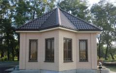 Водосточная система aquAsystem, металлочерепица Poimukate, д. Петровское
